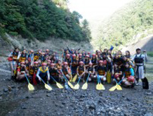 hodu rafting course goal point